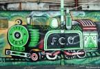 club ferro carril oeste futbol tren mural buenos aires street art buenosairesstreetart.com
