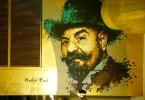 subte linea H murales hospitales subte martin ron Angel Villoldo parque patricios buenos aires