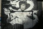 bruce lee enter the dragon graffiti buenos aires street art tour buenosairesstreetart.com