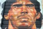 maradona mural retrato argentinos juniors buenos aires buenosairesstreetart.com el marian