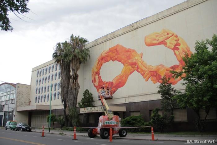 gaia argentina mural buenos aires street art entrevista meeting of styles buenosairesstreetart.com