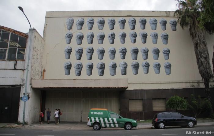 ice cream street art mural argentina nanook gaia buenos aires buenosairesstreetart.com