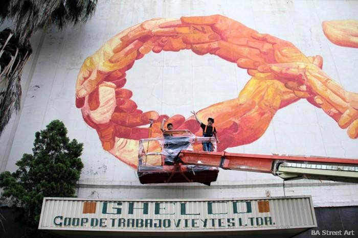 gaia artist interview nanook GHELCO buenos aires graffiti mural art buenosairesstreetart.com