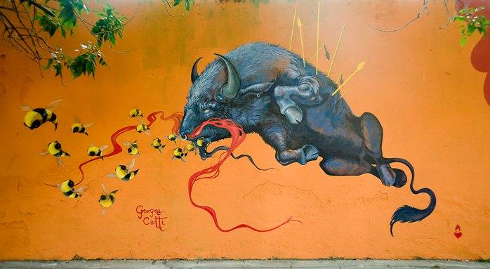 georgina ciotti buenos aires muralista buenosairesstreetart.com