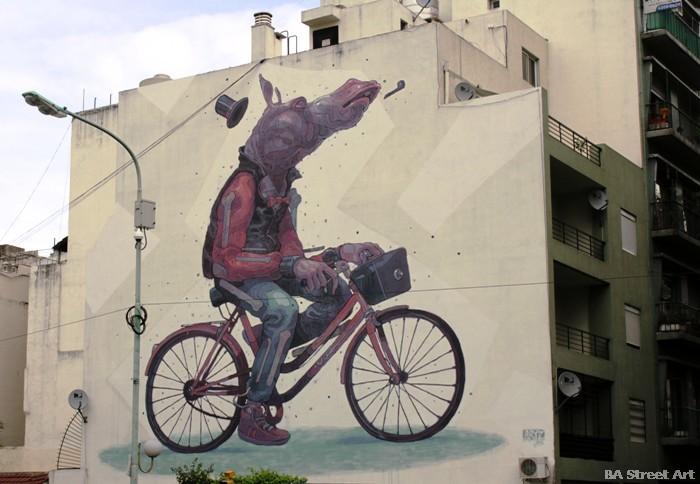 aryz street artist buenos aires meeting of styles 2012 buenosairesstreetart.com
