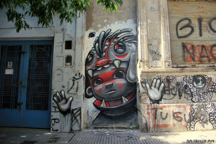 buenos aires graffiti tour animalito land buenosairesstreetart.com BA Street Art