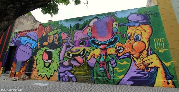 graffiti tour buenos aires buenosairesstreetart.com BA Street Art