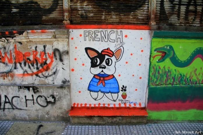 buenos aires graffiti tour dudu animalito land buenosairesstreetart.com BA Street Art (4)