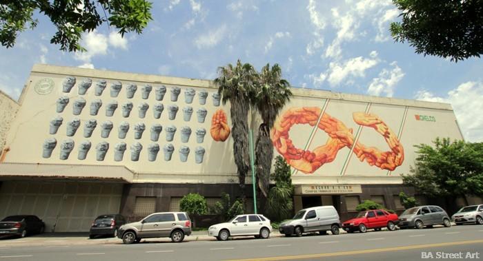 gaia street art buenos aires mural buenosairesstreetart.com