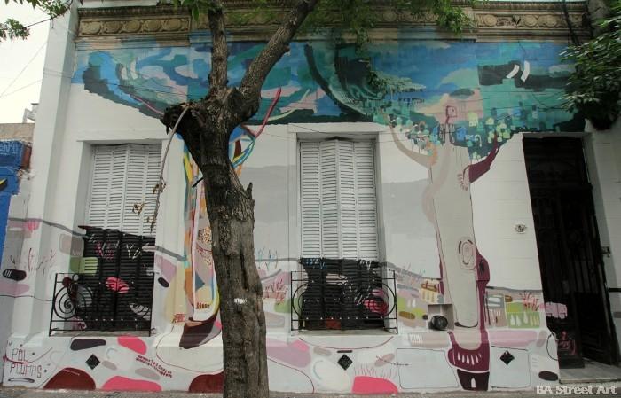 pelos de plumas corona buenos aires street art buenosairesstreetart.com