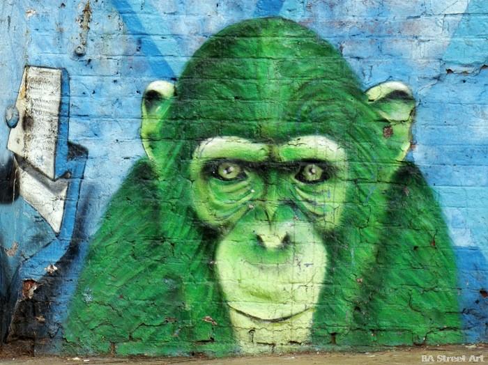 zoo buenos aires chimpanzee ice street art buenosairesstreetart.com