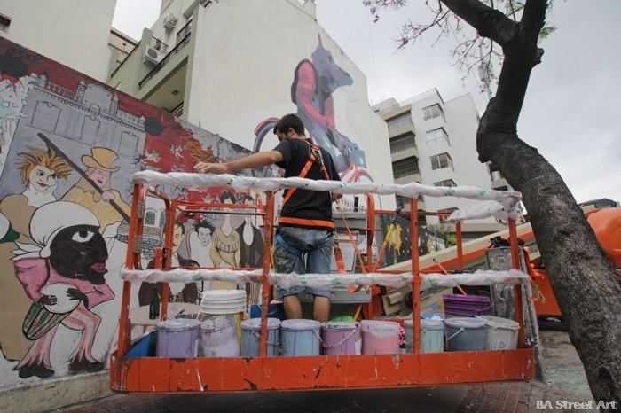 aryz mural argentina artista buenos aires street art buenosairesstreetart.com