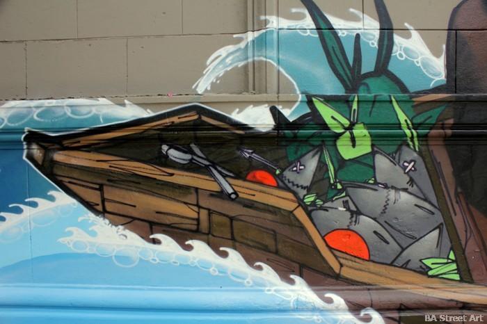 chile graffiti peces sail stgo under crew antiago buenosairesstreetart.com