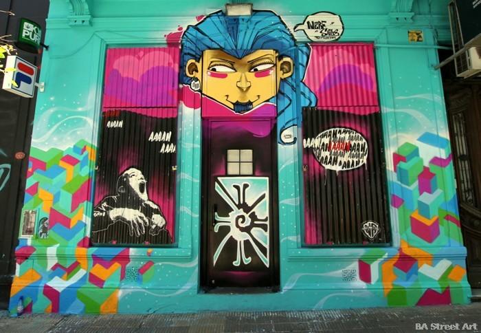 saile santiago under crew buenosairesstreetart.com buenos aires street art