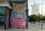 eva peron mural ministerio de salud buenos aires malegria graffiti buenosairesstreetart.com