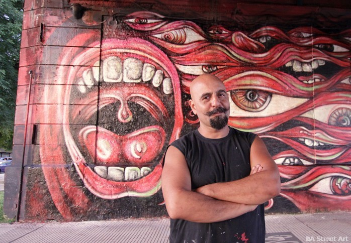 alfredo segatori muralista buenos aires street art buenosairesstreetart.com