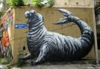roa buenos aires street art tour sea lion mural sloth buenosairesstreetart.com