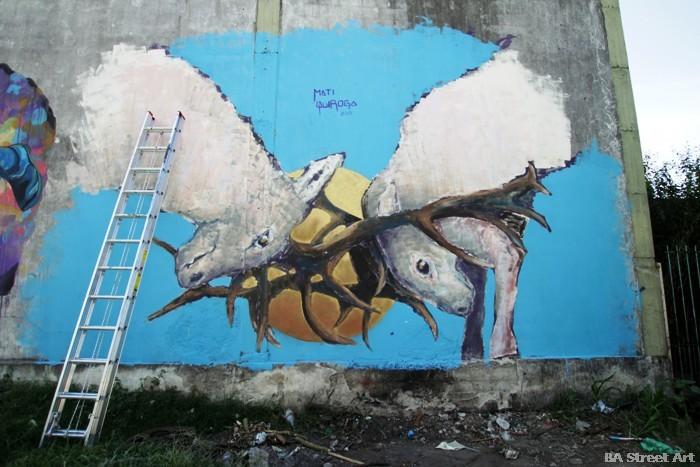 mati quiroga murales buenos aires street art buenosairesstreetart.com
