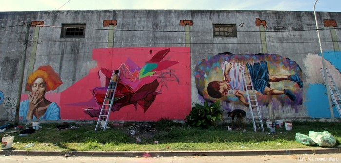 tigre 100 x 100 festival de arte urbano graffiti tour buenos aires buenosairesstreetart.com
