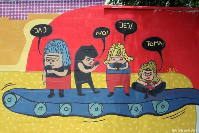 arte urbano buenos aires jus justina murales buenosairesstreetart.com