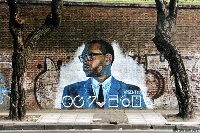 Chris Brown new mural by El Marian | BA Street Art