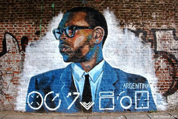 chris brown tribute portrait mural buenos aires graffiti buenosairesstreetart.com