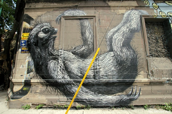 roa mural buenos aires graffiti arte callejero sloth urban art murales buenosairesstreetart.com