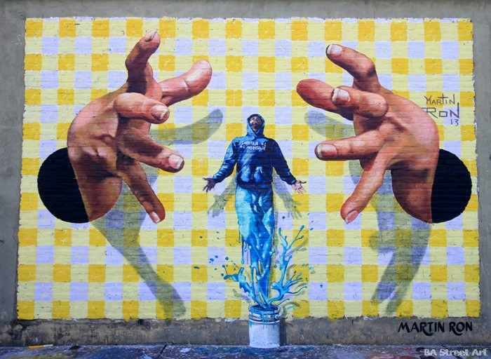 arte callejero buenos aires argentina muralismo realismo buenosairesstreetart.com