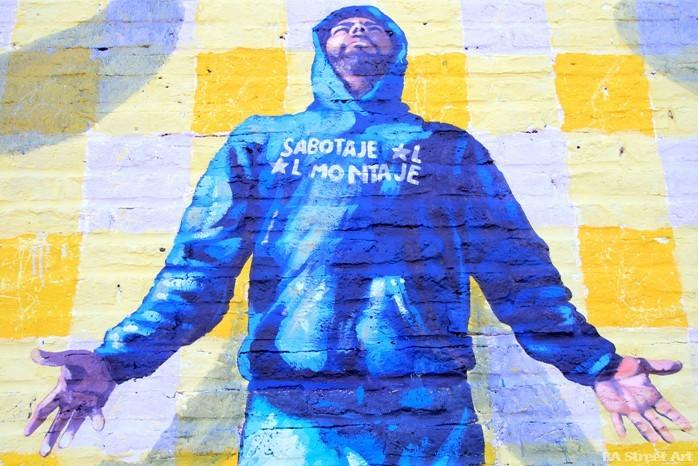 Sabotaje al Montaje artista muralista graffitero islas canarias canary islands artist