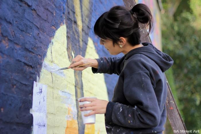 anita messina female street artist argentina buenos aires