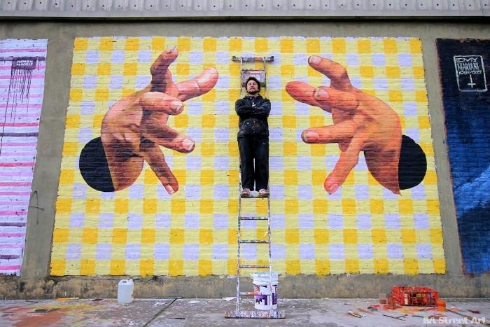 arte callejero ron muralist buenosairesstreetart.com