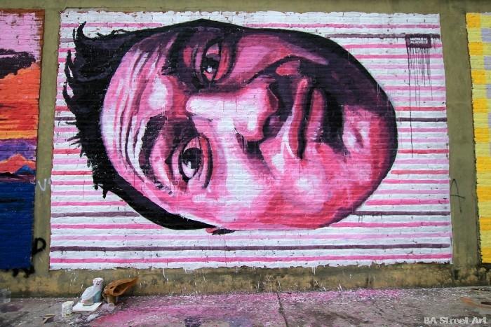 sabotaje al montaje artista islas canarias españa buenosairesstreetart.com
