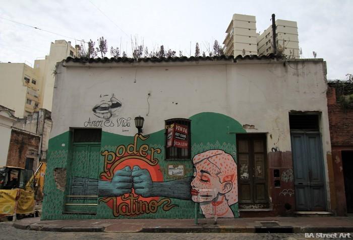 colectivo licuado buenos aires street art graffiti argentina buenosairesstreetart.com