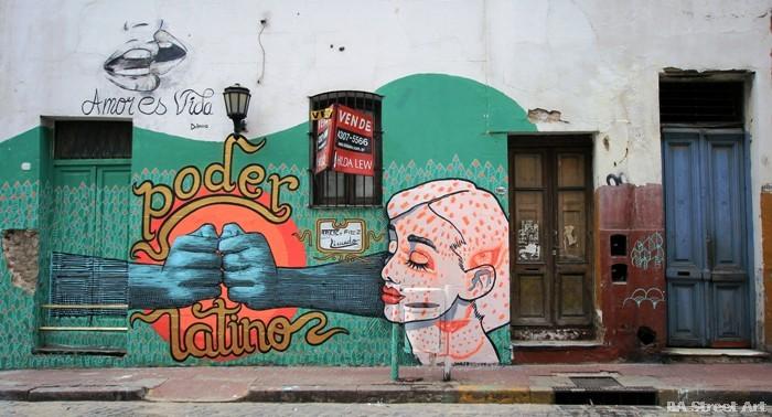 colectivo licuado street art uruguay montevideo buenos aires muralismo argentina buenosairesstreetart.com