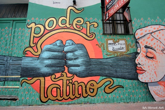 colectivo licuado fitz theic buenos aires san telmo street art graffiti argentina buenosairesstreetart.com