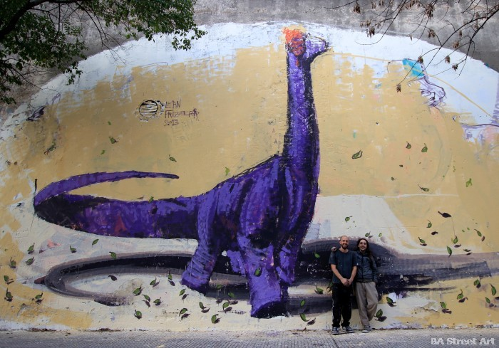 dinosaur graffiti buenos aires buenosairesstreetart.com