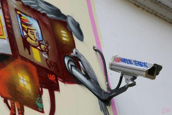 CCTV camaras buenos aires argentina arte urbano recoleta buenosairesstreetart.com