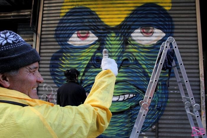 gobierno de la ciudad buenos aires en todo estas vo trabajadores arte urbano