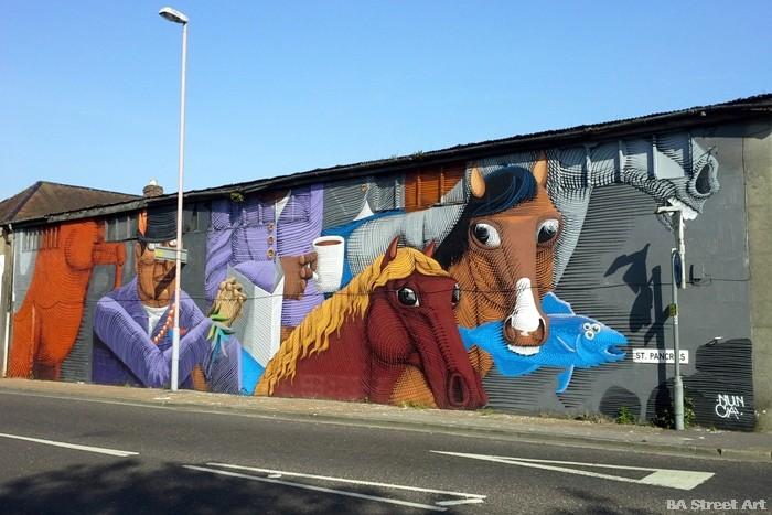 chichester street art festival sussex nunca