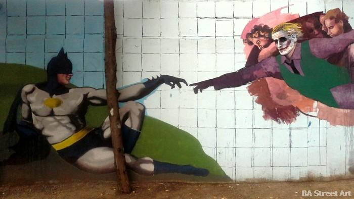 creation of adam michaelangelo street art buenosairesstreetart.com