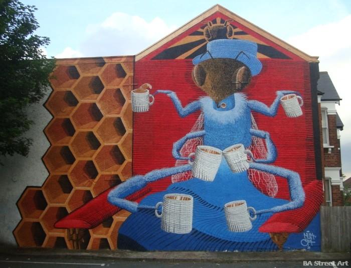 dulwich street art festival nunca buenosairesstreetart.com