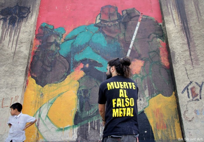 heavy metal argentina buenos aires muerte al falso metal buenosairesstreetart.com