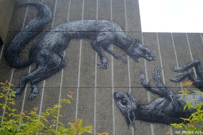phlegm london street art south bank london buenosairessttreetart.com