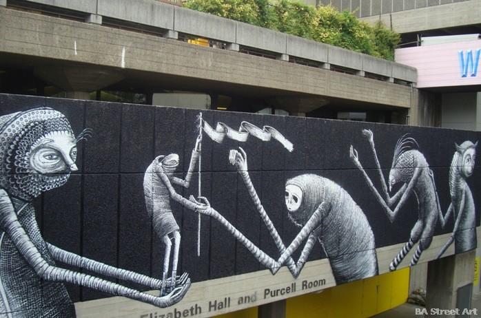 phlegm southbank centre mural london festival of neighbourhoods buenosairesstreetart.com
