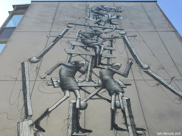 phlegm street art festival chichester