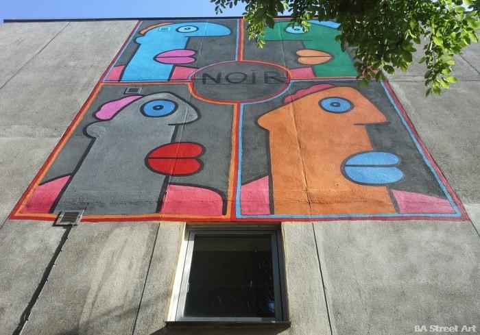 thierry noir  chichester street art festival buenosairesstreetart.com