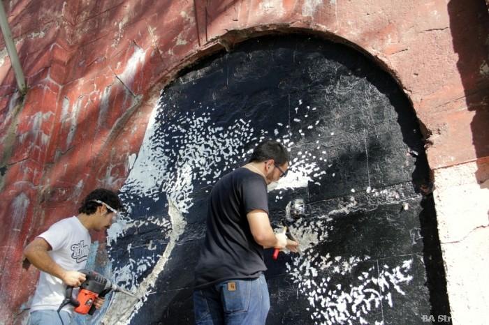 vhils street artist portugal buenosairesstreetart.com
