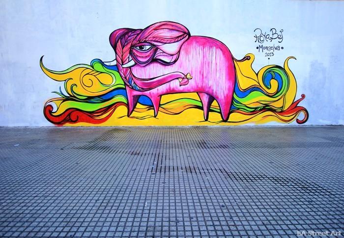 pink elephant street art buenos aires picka bel buenosairesstreetart.com