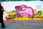 pink elephant street art buenos aires buenosairesstreetart.com