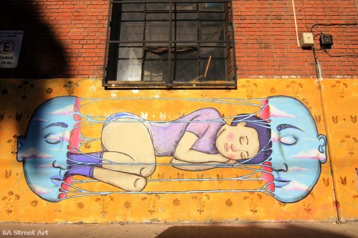 fitz dorian colectivo licuado mural buenos aires argentina palermo buenosairesstreetart.com